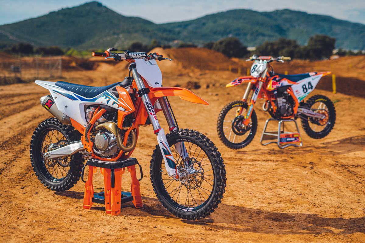 Alles zu den neuen KTM 2022 Motocross-Modellen